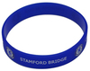 Chelsea - Rubber Crest Single Wristband