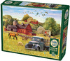 Cobble Hill - Summer Afternoon On the Farm Puzzle (1000 Pieces) Cover