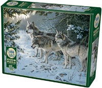 Cobble Hill - Wolf Trail Puzzle (1000 Pieces) - Cover