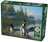 Cobble Hill - Common Loons Puzzle (1000 Pieces)