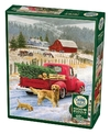 Cobble Hill - Christmas On the Farm Puzzle (1000 Pieces) Cover