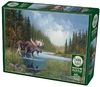 Cobble Hill - Moose Lake Puzzle (1000 Pieces) Cover