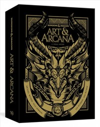 Dungeons and Dragons Art and Arcana & Ephemera - Michael Witwer (Hardcover) - Cover