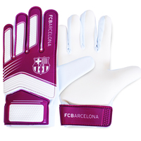 Barcelona - Club Crest Goalkeeper Gloves Ages 7-9 (Boys) - Cover