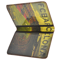 Barcelona - Club Crest Leather Card Wallet - Cover