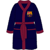 Club Crest Barcelona Mens Bath Robe (Large)