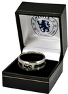 Chelsea - Black Inlay Ring - Medium