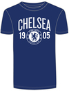 Chelsea - Mens Navy T-Shirt (Large)