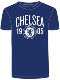 Chelsea - Mens Navy T-Shirt (X-Large) - Cover