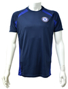 Chelsea - Navy Panel Mens T-Shirt (Medium)