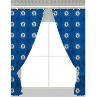 Chelsea - Repeat Crest Curtains - 54 Inch