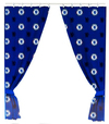 Chelsea - Repeat Crest Curtains - 72 Inch