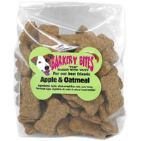 Barkery Bites - Whole-Wheat Biscuits - Apple & Oatmeal (250g)