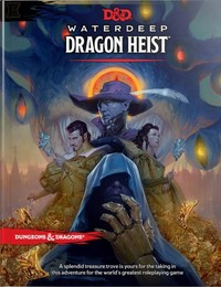 Dungeons & Dragons - Waterdeep: Dragon Heist (Role Playing Game) - Cover