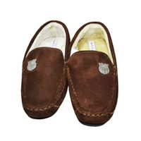 Barcelona - Club Crest Moccasin Slippers (Size 11-12) - Cover