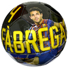 Barcelona - Club Crest & Fabregas Photo Football (Size 5)