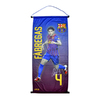 Barcelona - Club Crest & Fabregas Photo Pennant (Large)