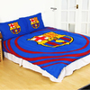 Barcelona - Club Crest Reversible Pulse Double Duvet Set