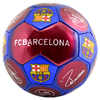 Barcelona - Club Crest & Players Signature Football (Size 5)