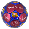 Barcelona - Club Crest & Players Signatures Mini Football (Size 1)