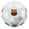 Barcelona - Club Crest & Players Signatures Silver Football (Size 5)
