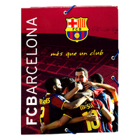 Barcelona - Club Crest Size A5 With Flaps Cardboard Binder - Cover