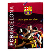 Barcelona - Club Crest Size A5 With Flaps Cardboard Binder