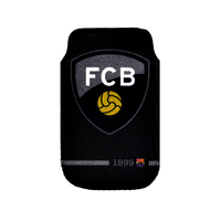 Barcelona - Club Crest & Name Smart Phone Pouch - Cover
