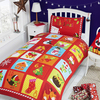 Advent Calendar Christmas Duvet Set (Single)