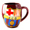 Barcelona - Club Crest Tea Tub Mug (Ceramic Boxed Mug)