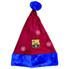 Barcelona - Club Crest & Snowflake Xmas Applique Hat