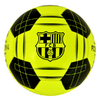 Barcelona - Club Crest Yellow Fluo Football (Size 5)