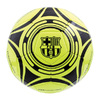 "Barcelona - Club Crests & Text ""FCBARCELONA"" Yellow Fluo Football (Size 5)"