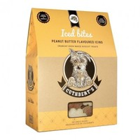 Cuthberts - 650g Peanut Butter Flavour Iced Dog Biscuits