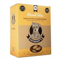 Cuthberts - Peanut Butter Flavour Round Large Bites Dog Biscuits (1kg)