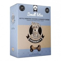 Cuthberts - Kettle Roasted Chicken and Veggies Flavour Small Bites Dog Biscuits (1kg) - Cover