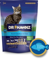 Dr Hahnz - Dry Cat Food Signature Range - Chicken & Fish (1kg) - Cover