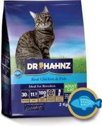 Dr Hahnz - Dry Cat Food Signature Range - Chicken & Fish (2kg) - Cover