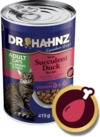 Dr Hahnz - Wet Cat Food Signature Range Can - Duck (415g)