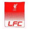 Liverpool - Club Crest Fade Design Fleece Blanket Cover
