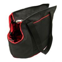 MCP - Large Dog Carrier Bag (Black and Red)