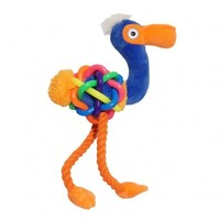 Rosewood - Tough Multi-Texture Flamingo Toy (Large) - Cover