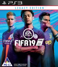 FIFA 19 - Legacy Edition (PS3) - Cover