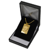 Liverpool - Club Crest Gold Plated Dog Tag and Chain (Necklace) Cover