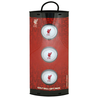 Liverpool - Club Crest Golf Ball Gift Pack - Cover