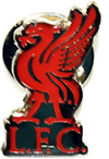 Liverpool - Liverbird Crest Pin Badge Cover