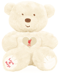 Liverpool - Love And Hugs Bear - Cover