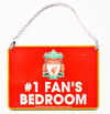 Liverpool - No 1 Fan Bedroom Sign