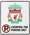 Liverpool - Club Crest No Parking Sign Cover