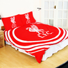 Liverpool - Club Crest Pulse Reversable Duvet Set (Double)